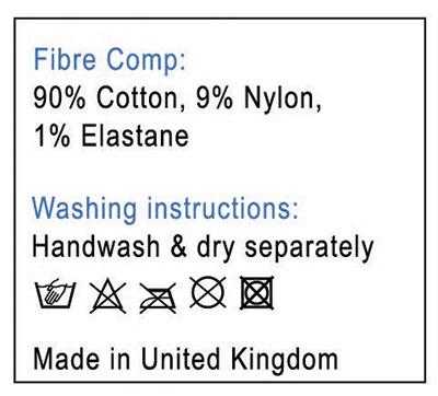 Comfort sock composition