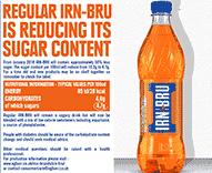 IRN-BRU Reducing Sugar Factsheet