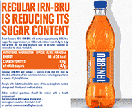 IRN-BRU Reducing Sugar Factsheet
